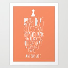 Hand Lettered Quote Art Print