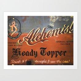 Vermont Brewers Series The Alchemist Art Print