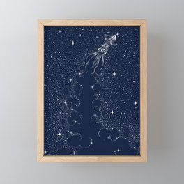 Star Inker Framed Mini Art Print