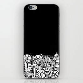Disorganized Speech #4 iPhone Skin