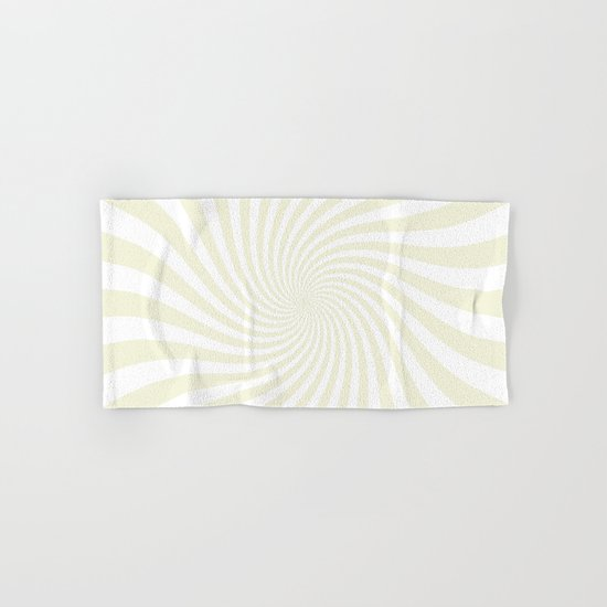 Swirl (Beige/White) Hand & Bath Towel