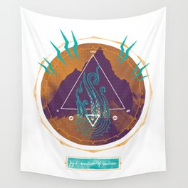 The Mountain of Madness Wall Tapestry