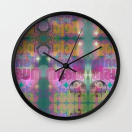 Funky Retro Wall Clock