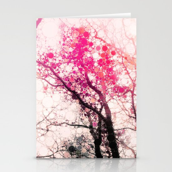 Tree Silhouette 2 Stationery Cards