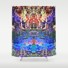 Temple of Dreams Shower Curtain