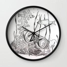 The Symbol of Eternal Love Wall Clock