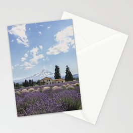 WHITE LAVENDER Stationery Cards