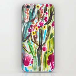 Café Cactus iPhone Skin