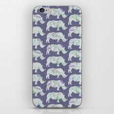 speckled rhinos iPhone & iPod Skin