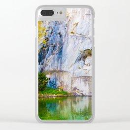 The Fallen Lion Clear iPhone Case