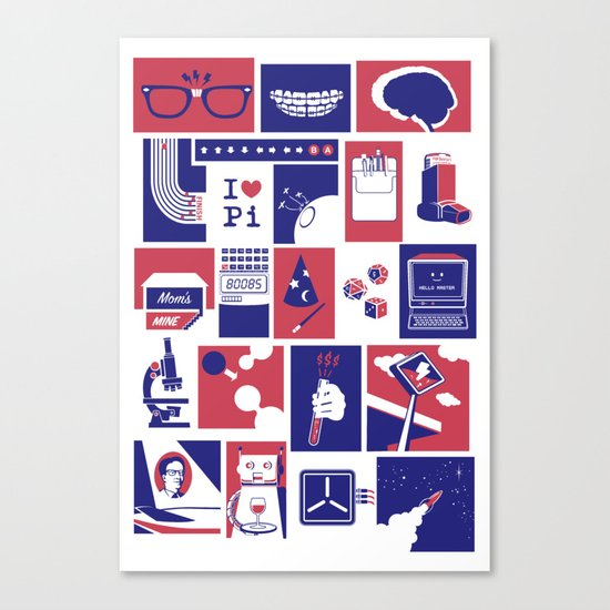 Geekology Canvas Print