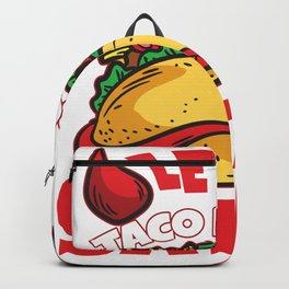 Let's Taco About Satan Backpack