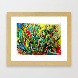 IN PRAISE OF THE SPRING SUN Framed Art Print