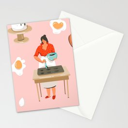 Brownie Batter Stationery Cards