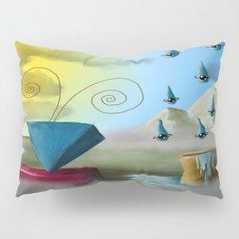 Hello Dali Pillow Sham