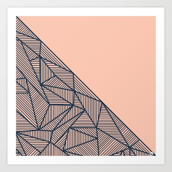 B Rays Geo 2 Art Print