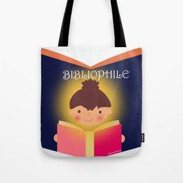 I am a Bibliophile Tote Bag