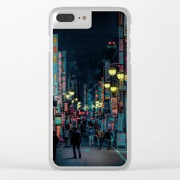 Tokyo Nights / Kabukicho Nights / Liam Wong Clear iPhone Case