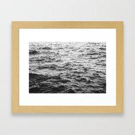 Across the Waves Framed Art Print