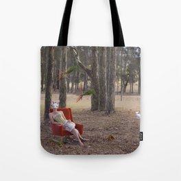 The Rabbit Burrow Tote Bag