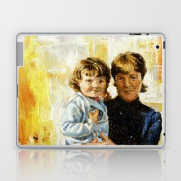 mother and child 1 Laptop & iPad Skin