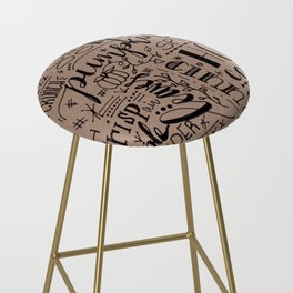 All Things Fall on Craft Bar Stool