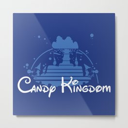Candy Kingdom Metal Print