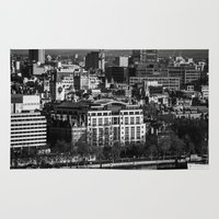 england Area & Throw Rugs featuring London, England by Bradley Wolak Photography