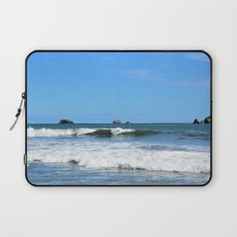 Costa Rican Surfing Waves Laptop Sleeve