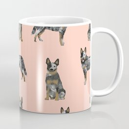 Australian Cattle Dog blue heeler dog breed gifts for cattle dog owners Coffee Mug