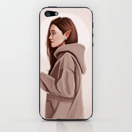 Elf Woman iPhone Skin