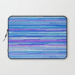 Blue Purple Random Lines Laptop Sleeve