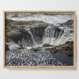 Thor's Well, No. 3 Serving Tray