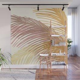 Autumn Palms / Tropical Plant Design Wall Mural