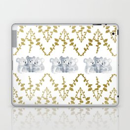 Koalas in Gold Laptop & iPad Skin
