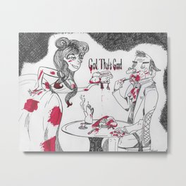 """God, That's Good"" Sweeney Todd Metal Print"