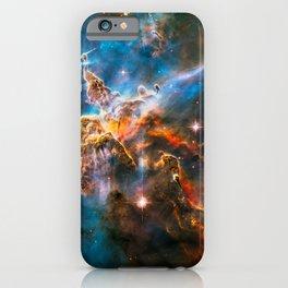 Carina Nebula, Galaxy Background, Universe Large Print, Space Wall Art Decor, Deep Space Poster iPhone Case