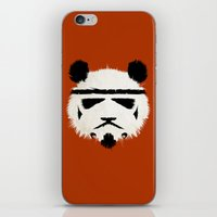 panda iPhone & iPod Skins featuring Panda Trooper by Danny Haas