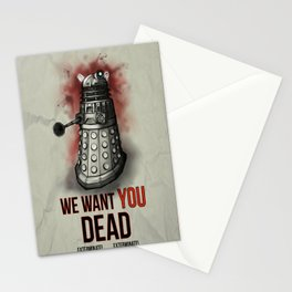 We Want You (No Border) Stationery Cards