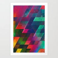 let it go Art Prints featuring let go by Spires