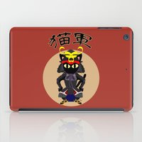 army iPad Cases featuring Cat Army by BATKEI
