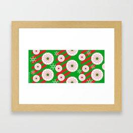 Pearly and White Dentist Holiday Mug Framed Art Print