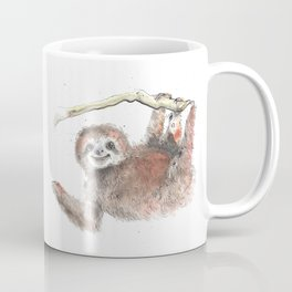 Happy is the Three Toed Sloth Coffee Mug