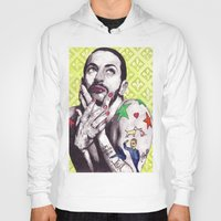 marc johns Hoodies featuring Marc Jacobs by Joseph Walrave