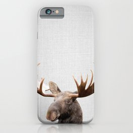 Moose - Colorful iPhone Case
