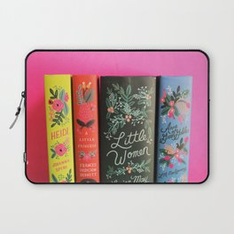 Puffin in Bloom - Pink Laptop Sleeve