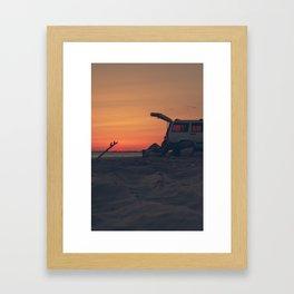 Surf life Framed Art Print