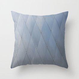 Metal Sheeting Throw Pillow