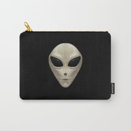 Grey Alien Carry-All Pouch