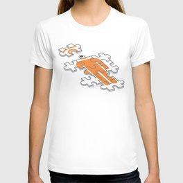 puzzle glance T-shirt